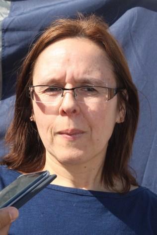 Margarita Manríquez, delegada de Villa Tuniche.