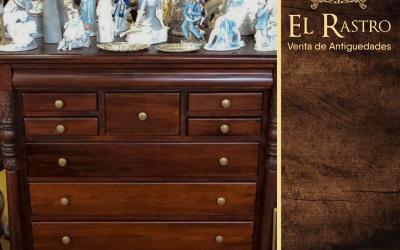 Sitios de la casa donde poner tu cómoda antigua