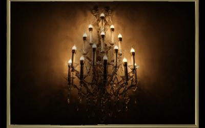 Ejemplos de lámparas antiguas de techo