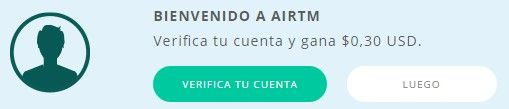 Verificar cuenta en AirTM