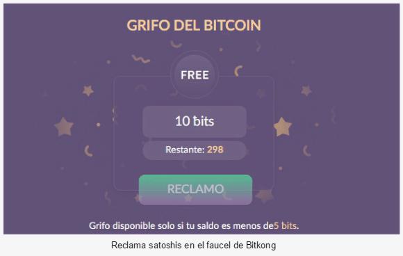 Faucet de BitKong