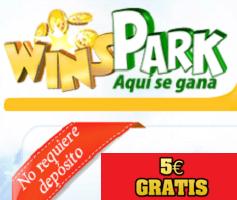 5 euros gratis con winspark