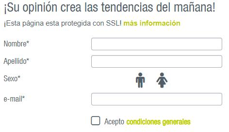 formulario de registro de marketagent