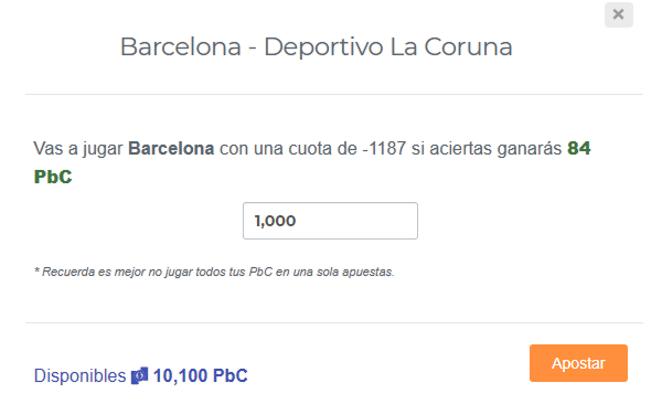 Apuesta en Picks and Bets
