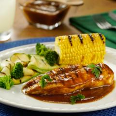 Receta de pollo a la parrilla en salsa de tamarindo