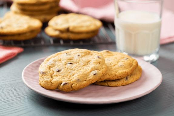 Receta de galletas caseras con chispas de chocolate