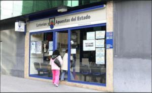 ocal de venta de Loterías y Apuestas del Estado