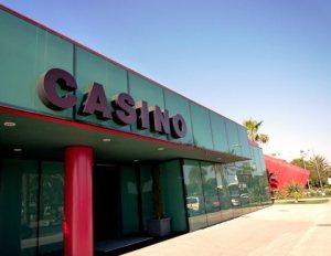 Fachada del Casino de Ibiza