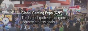 logo del Global Gaming Expo (G2E) 2015