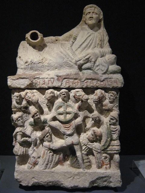 urna funeraria etrusca S II a.c.