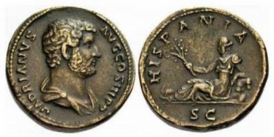Moneda Adriano