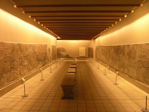 Cacería de Asurbanipal en el Museo Británico