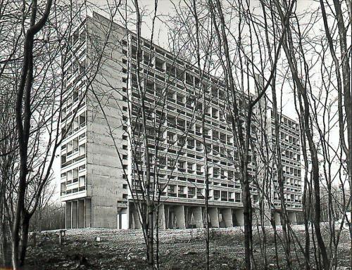 Unité d'Habitation, Briey-en-Forêt, France, 1956