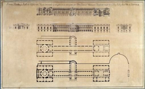 Planos de Villanueva (Fuente: web Museo del Prado)