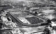 Vista del Hipódromo de la Castellana, antes de su demolición en 1932