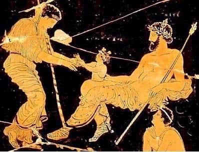 nacimiento de Dioniso