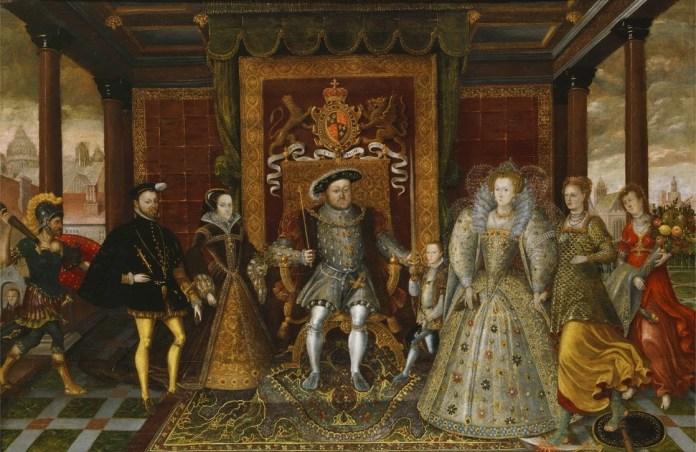 Familia Enrique VIII