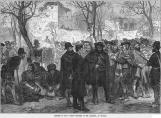 SPAIN Carlist Prisoners in the Alhambra at Granada - Antique Print 1873