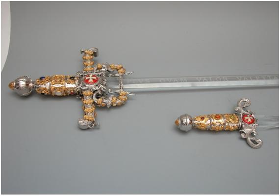 Orden de Malta tiziano orden malta espada