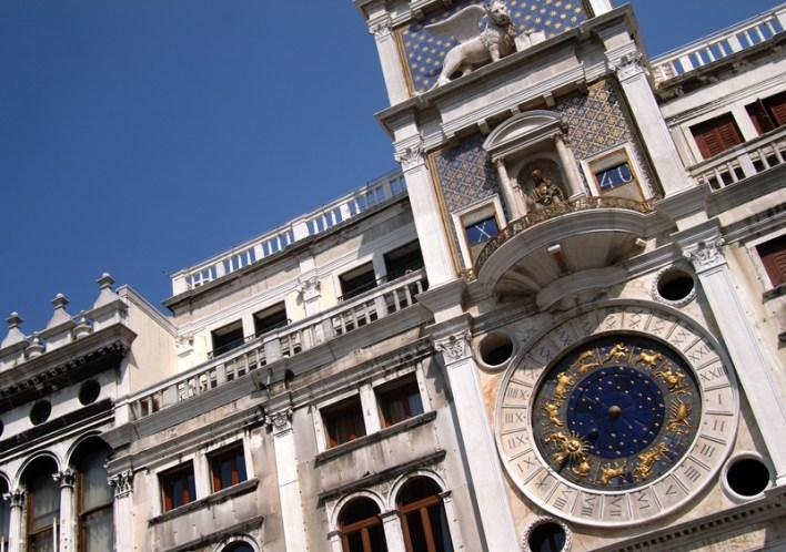 La Torre dell'Orologio de Venecia