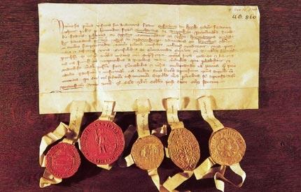 Confirmación de derechos sobre Tallín a la Orden Teutónica