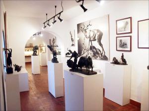 Imágenes del interior del Museo Navarro en Villena