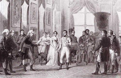Napoleón Bonaparte en Saint Cloud