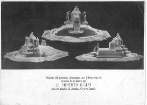 Proyecto para el monumento a Chapí