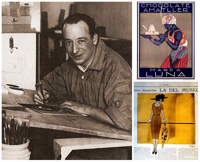 El ilustrador Penagos y algunas de sus creaciones