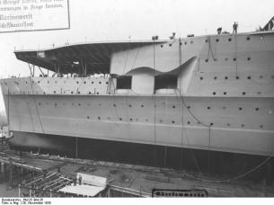 Obras de construcción en Kiel (1938)