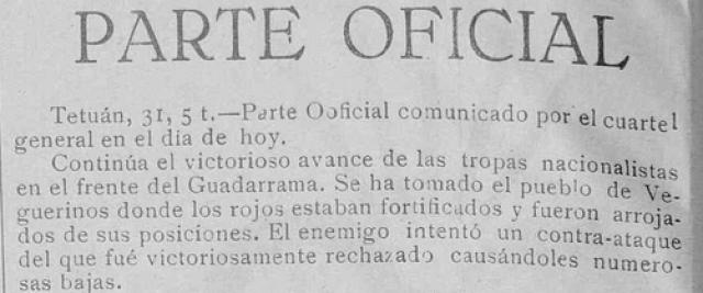 Diario de la tarde.Órgano en Extremadura de Falange Española de las J.O.N.S Año I Número 1 - 1936 Agosto 31