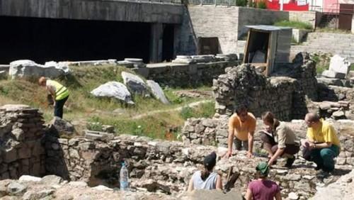 Fotografía de las excavaciones (c) www.bgnow.eu