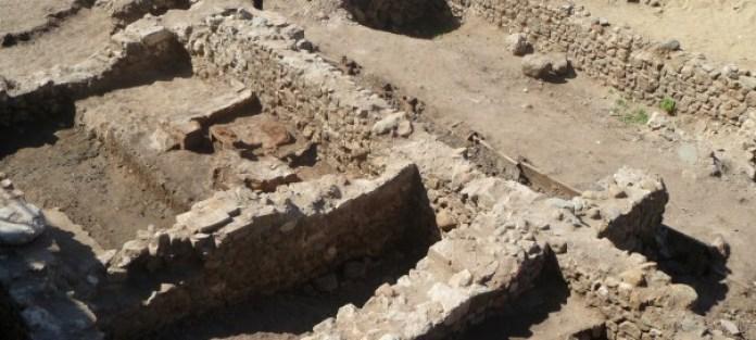Restos de la Basílica de Zaldapa