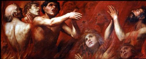 """Alonso Cano.- """"Las ánimas del Purgatorio"""" (1637)"""