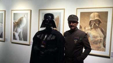 Photo of Darth Vader vestía toga