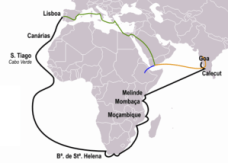 Ruta Portuguesa a las Indias