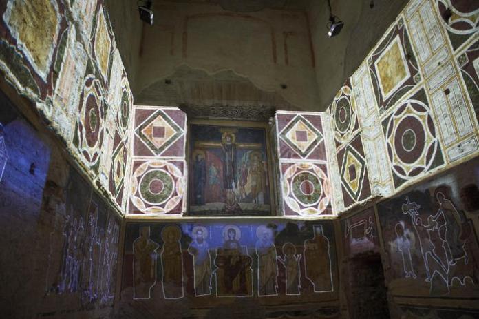 Imagen del videomapping ( ansa.it)