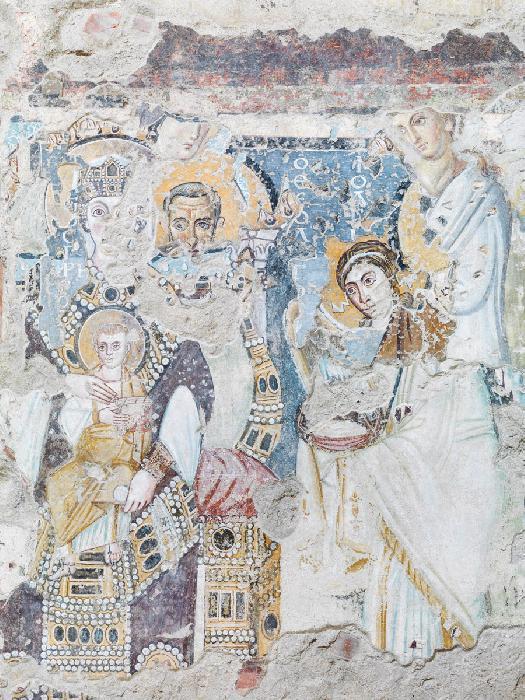 """Imagen de la Virgen con el niño (Foto: Diario """"gaetanoalfano.com"""")"""
