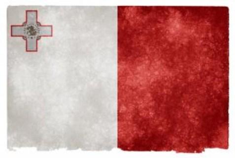 Bandera actual de Malta
