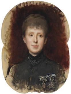 María Cristina de Habsburgo-Lorena (1887; Madrazo y Garreta)