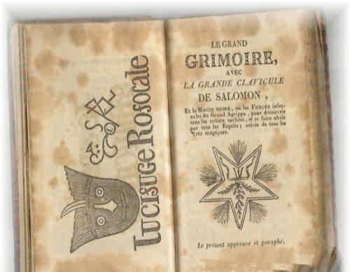 Los 13 libros m s extra os del mundo for Conjuros de salomon