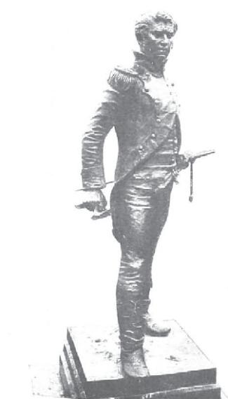 Capitán Daoiz, escultura ubicada en Sevilla (1908)