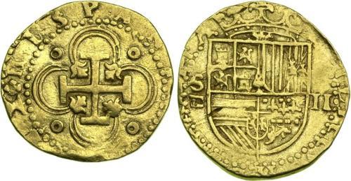 2 Escudos de Oro de Felipe II