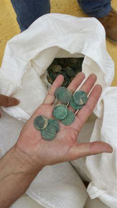 Monedas romanas. Europa Press.