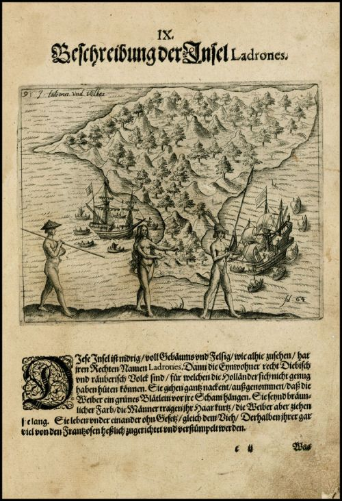 Teodoro de Bry, Isla de los Ladrones