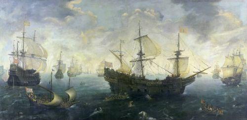 Escuadra española en el siglo XVI