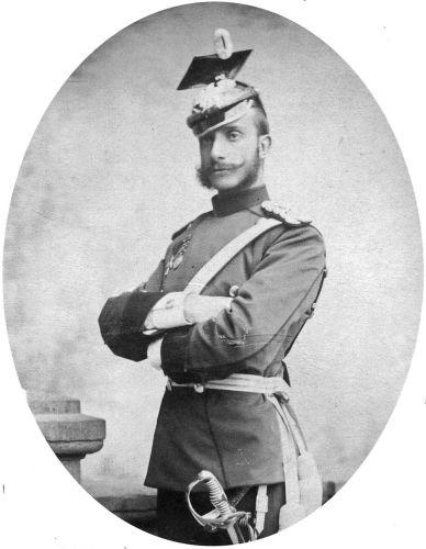 Fotografía de Alfonso XII en Bad Homburg (1884)