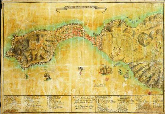 Ceuta en 1770
