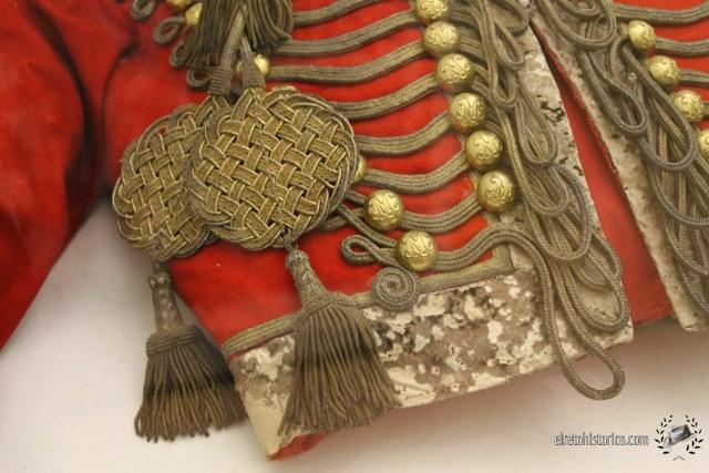 Uniforme de Húsar de Diego de León (c1839) Museo del Ejército de Toledo [Foto RetoHistorico]