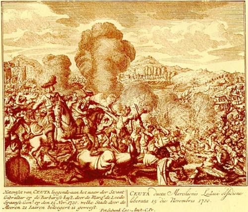 La llegada del Marqués de Lede a Ceuta